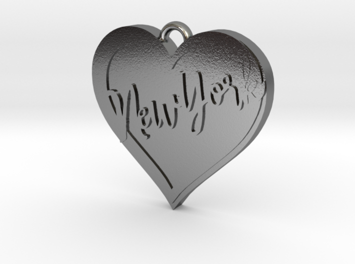 I love New York Pendant 1 3d printed