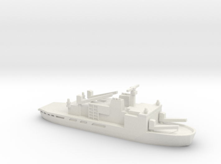 Icebreaker Shirase (AGB-5003), 1/1250 3d printed