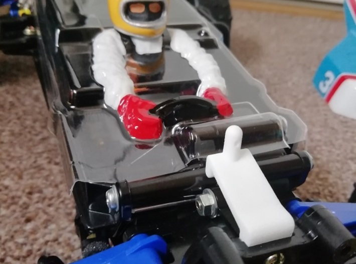Thundershot (x2) Extra Tall Front Body mounts 3d printed