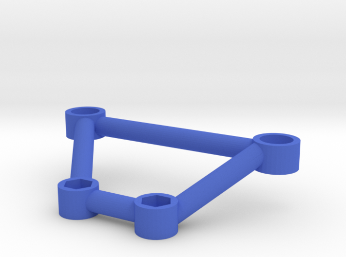 Thundershot Support Brace for 7mm Body Mount Posts 3d printed