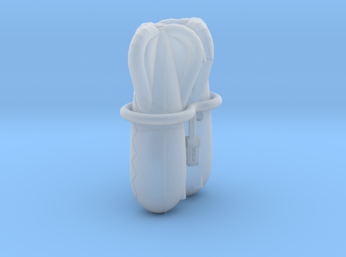 Caquot Type R Observation Balloon Two-Pack 3d printed How the models arrive