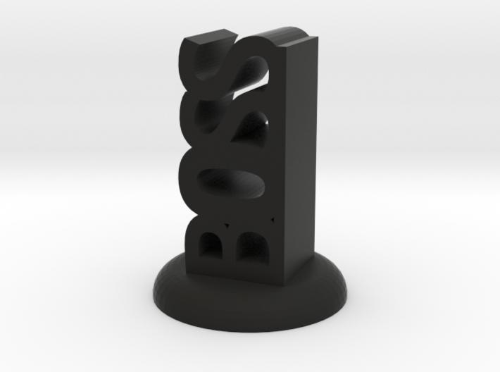 """BOSS"" D&D Word Mini 3d printed"