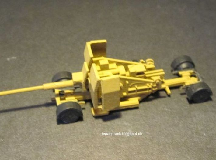 1/144 88mm L71 Flak 41 with Sd.Ah. 202 Trailer 3d printed