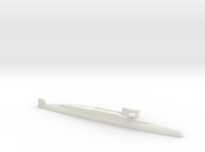 FS Redoutable-class SSBN, 1/1250 3d printed