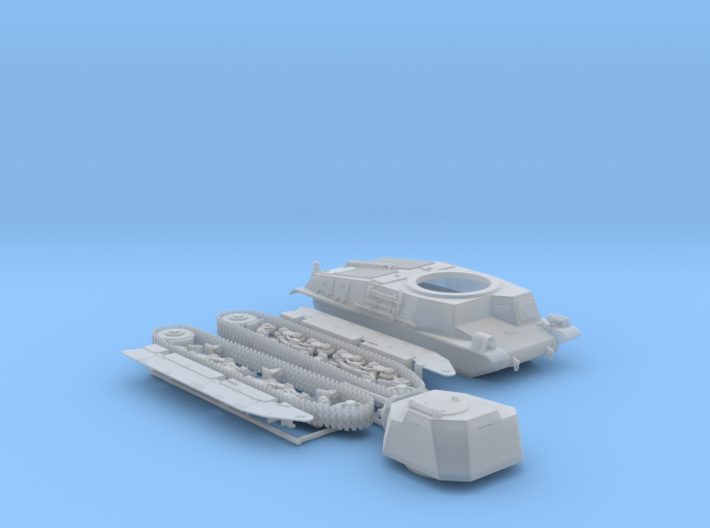 1/48 SARL 42 Tank (FCM 3 Man Turret 47mm SA37 Gun) 3d printed 1/48 SARL 42 Tank (FCM 3 Man Turret 47mm SA37 Gun)