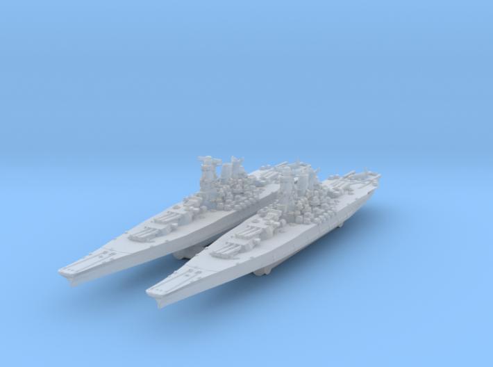 Yamato (1945) 1/4000 x2 3d printed