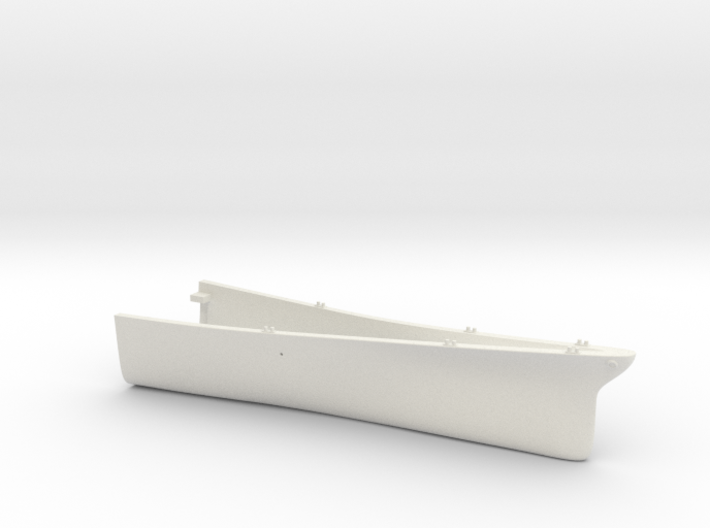 1/700 USS Kentucky BBAA-66 Full Hull - Bow 3d printed
