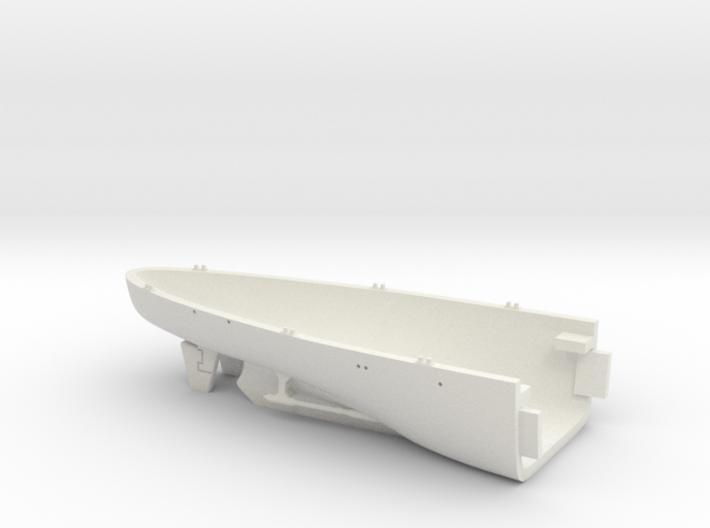 1/700 USS Kentucky BBAA-66 Full Hull - Stern 3d printed