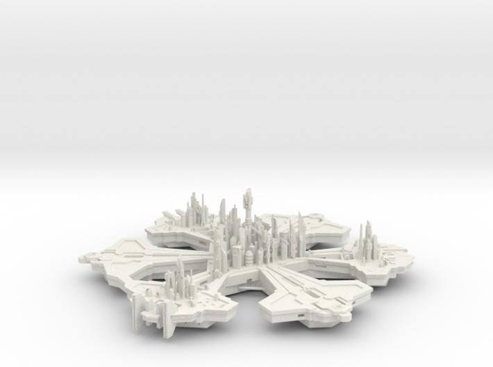 Atlantis 16 Hollow 3d printed