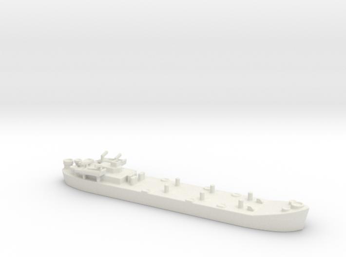 landing ship tank MK2 LST 1/1200 4 3d printed
