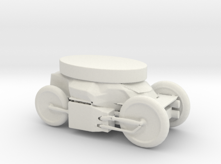Printle Thing Vehicle 02 - 1/48 3d printed