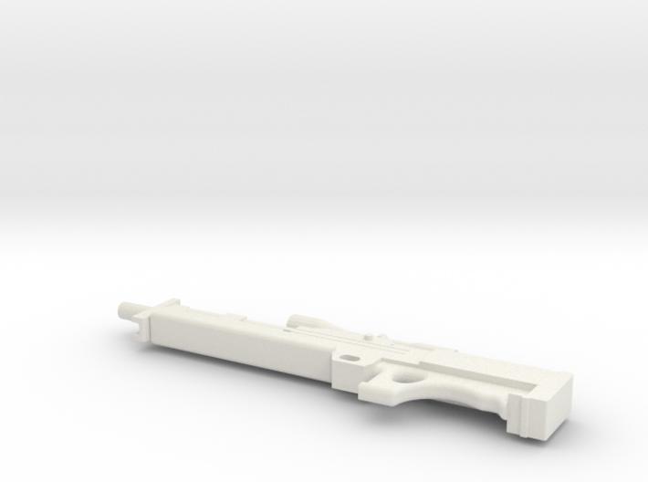 1:12 Walther WA 2000 Sniper Rifle 3d printed