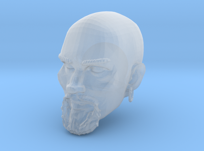 Ismail Head for Mythic Legions 2.0 3d printed Recommended