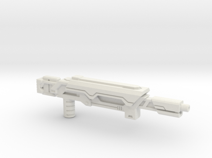 Earth Wars Laser Rifle (5mm) 3d printed