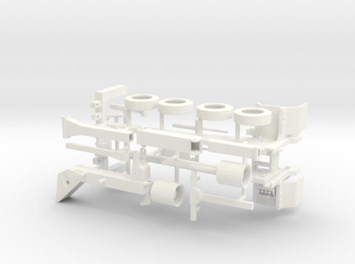 1/50 NRC type Quickswap Tow Truck fifth wheel lift 3d printed