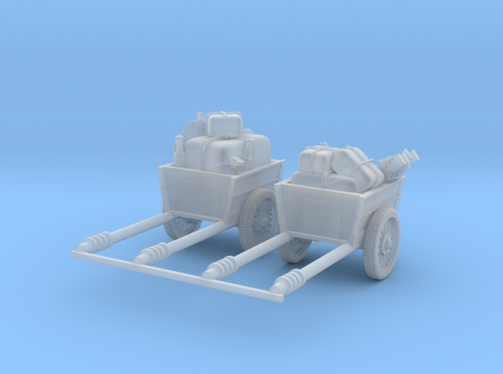 Post apocalypse 2x Cargo_set 3d printed