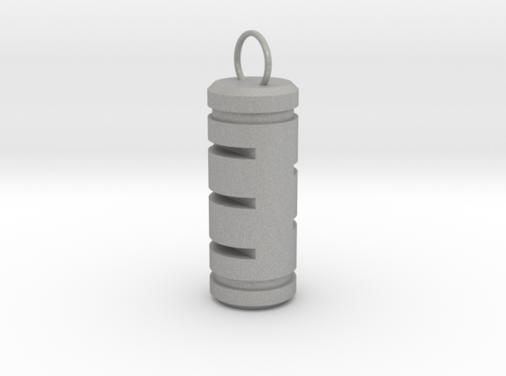 Pill Keychain 3d printed