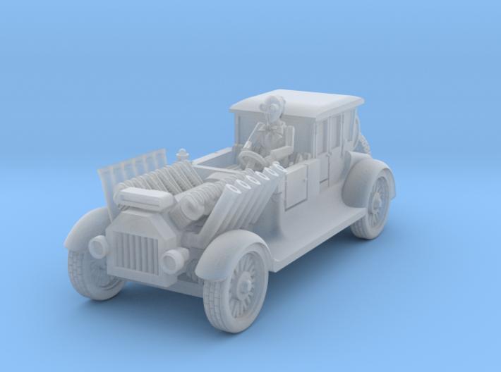 post apocalypse classic car 3d printed