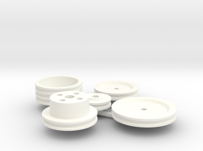 Stock Pulley set 1/8 3d printed