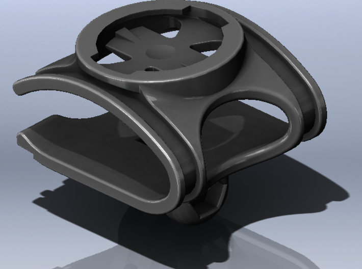 Speed Concept Garmin Mount with GoPro 3d printed