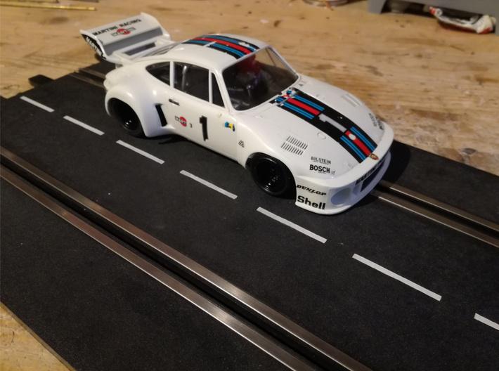 Chassis 124 Porsche 935 Tamiya Nichimo 18D 3d printed