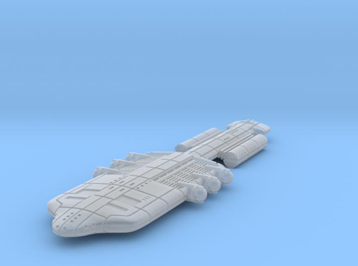 Gorm (GSN) Battle Cruiser 3d printed