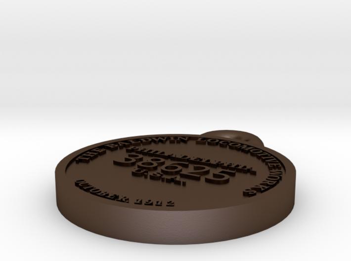 EBT14 Builder's plate 3d printed