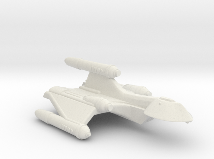 3125 Scale Romulan SparrowHawk-J+ Assault Cruiser 3d printed