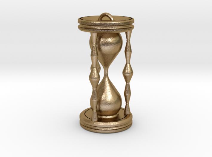 Hourglass pendant 3d printed