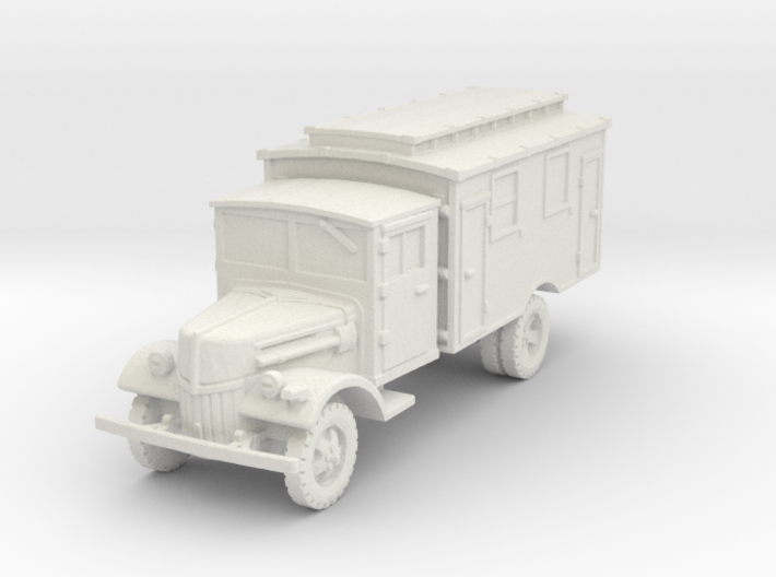 Ford V3000 Ambulance late 1/100 3d printed