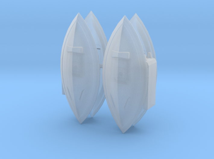Gelgoog and Knuckle Shields 3d printed