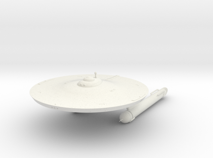 2500 Genghis class TOS 3d printed