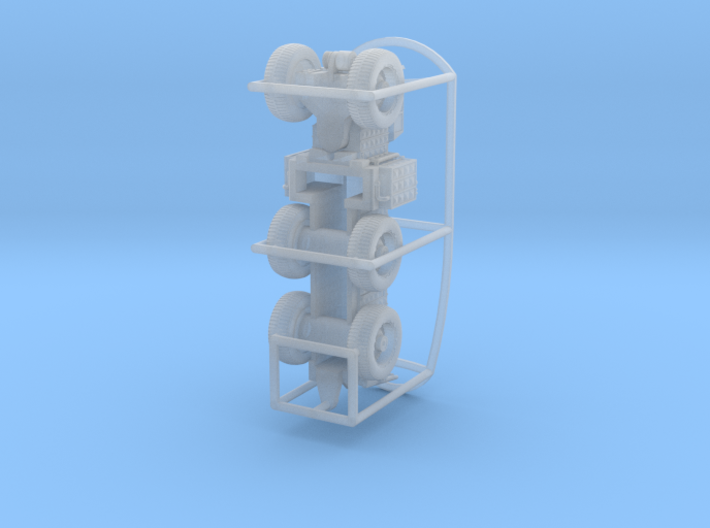 TC-497 Overland Train control module 3d printed