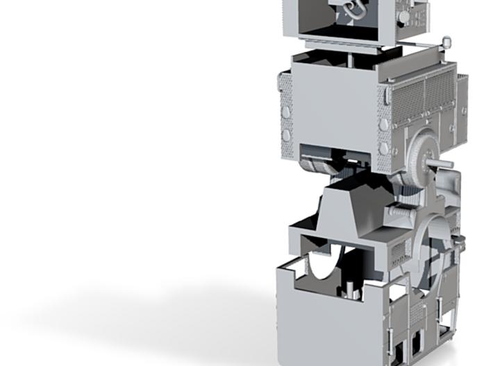 1/160 LA Seagrave Engine rollup doors 3d printed