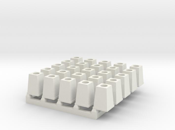 Streetlight Base O scale x 25 3d printed