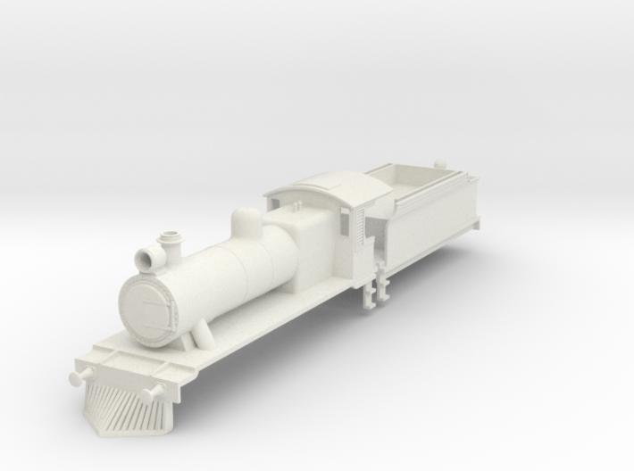 b-100-ceylon-b1-loco-plus-tender 3d printed