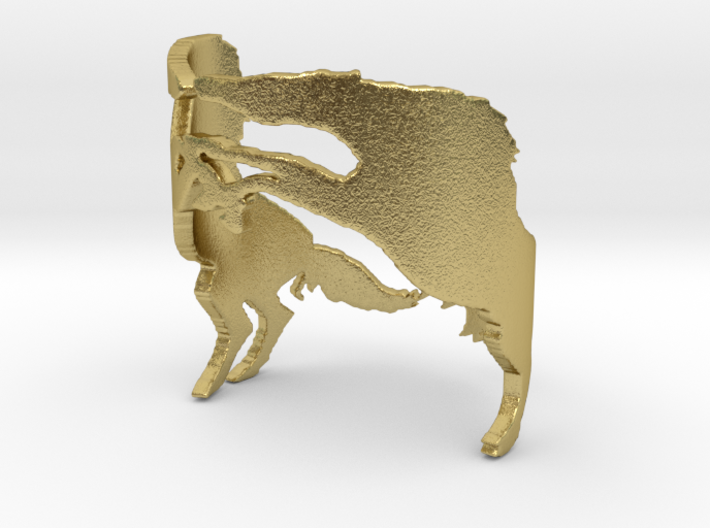 Wild Horses Ring Size 6 3d printed
