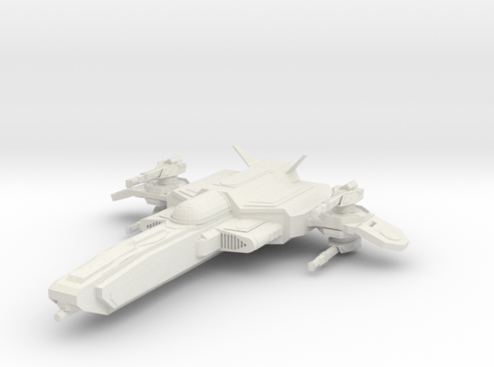 The Defiance 3d printed