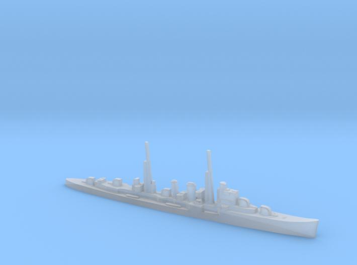 HMS Delhi (masts) 1:1800 WW2 naval cruiser 3d printed