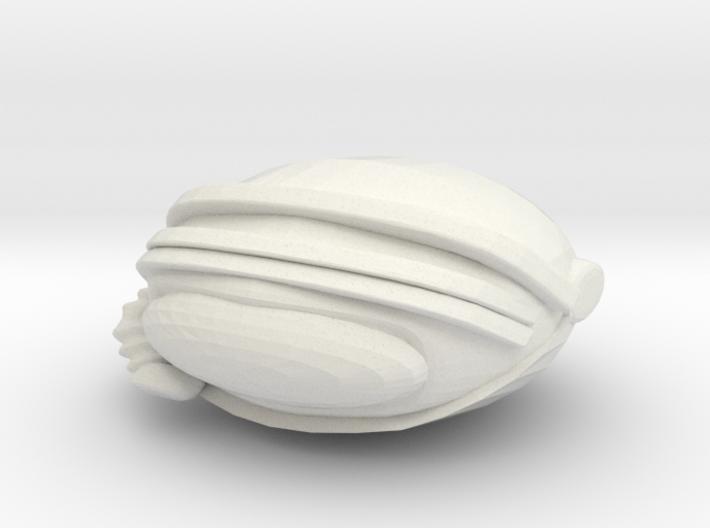SpaceHelmetv3b 3d printed