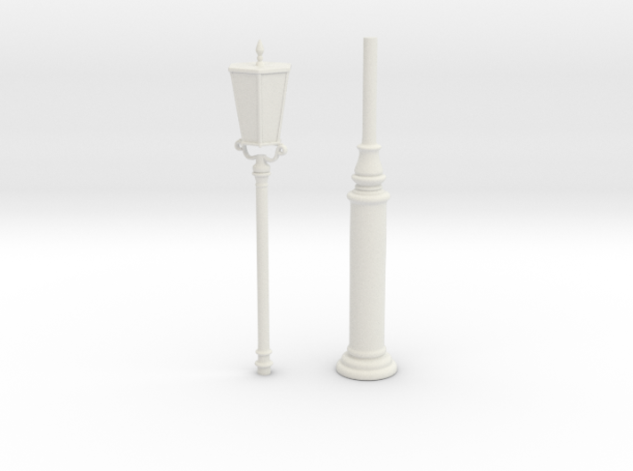 Printle Thing Lampost - 1/24 3d printed