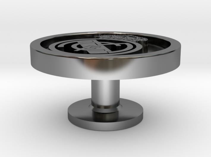 Real madrid - Gemelo Cufflink 3d printed