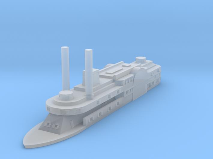 1/1200 USS Ouachita 3d printed