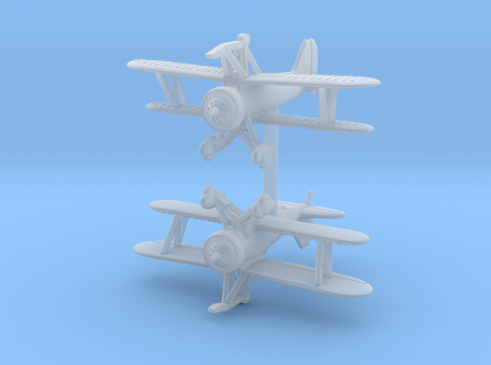 1/350 Curtiss F9C (x2) 3d printed