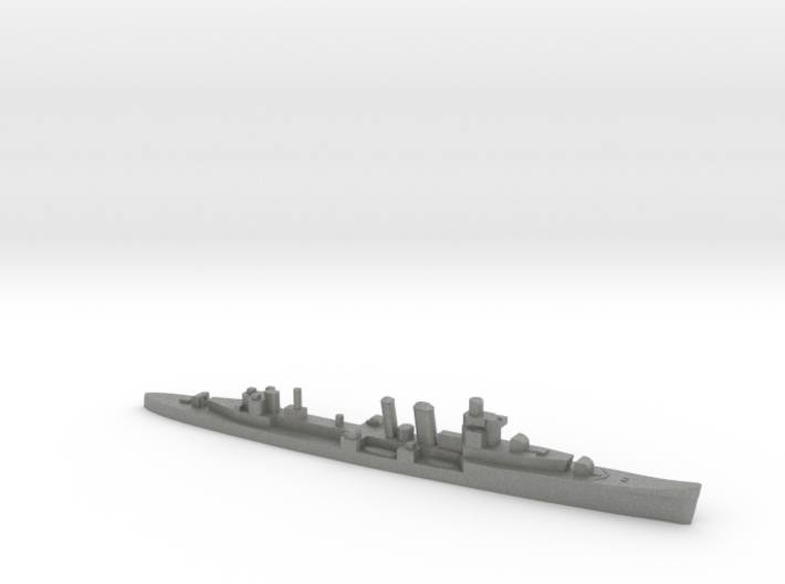 HMS Colombo 1:2400 WW2 naval cruiser 3d printed