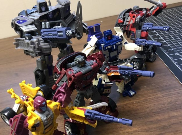 Combiner rifle for Combiner Wars Menasor and Stunt 3d printed