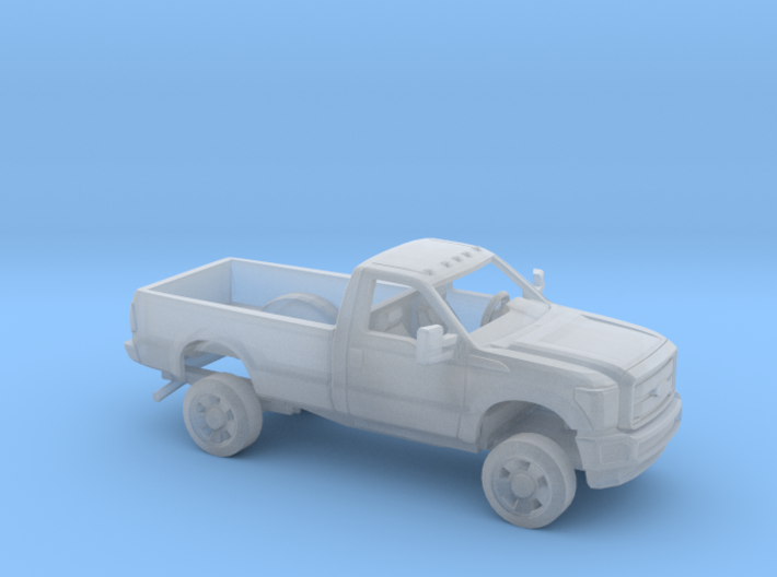 1/87 2011-16 Ford F Series RegCab RegBed Kit 3d printed