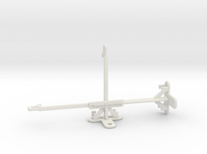 BLU Vivo XI+ tripod & stabilizer mount 3d printed