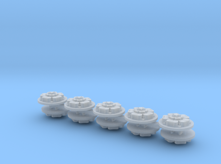 Commission 68 Drop Pod Icons x10 3d printed