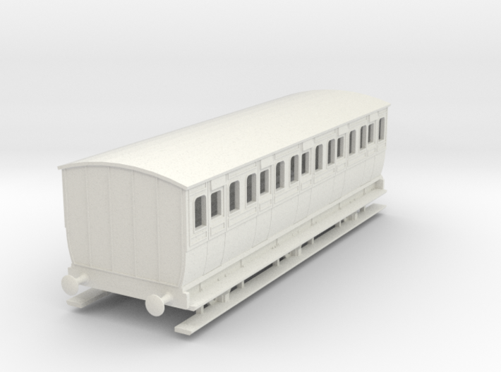 0-64-mgwr-6w-3rd-class-coach 3d printed